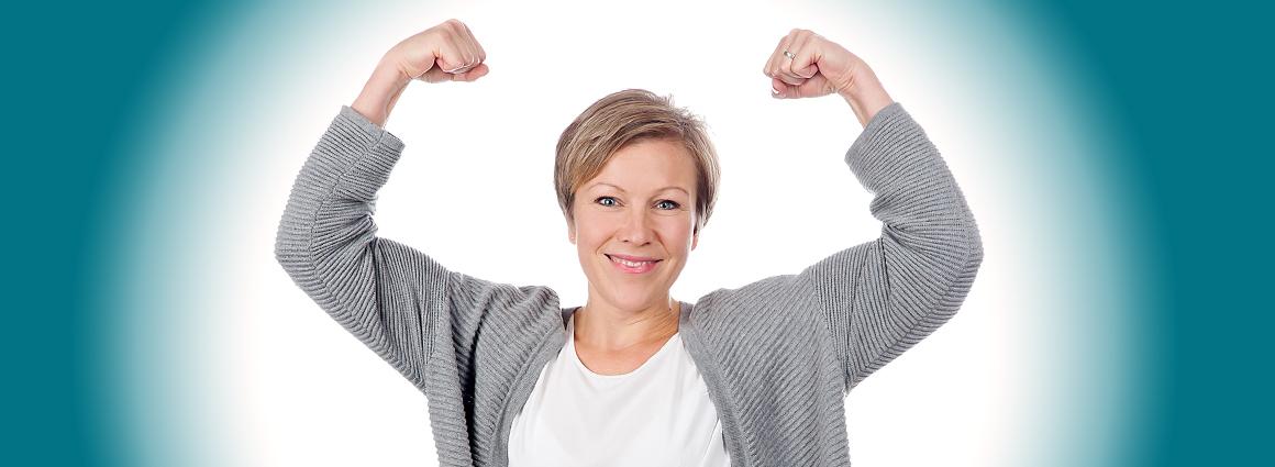 Kristina Dulzaides-Waetge – Echt stark